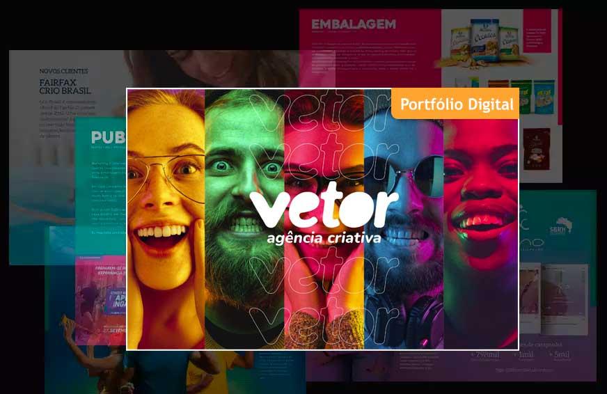 Download do portfólio digital da Vetor Agência Criativa
